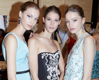 1AM BACKSTAGE OSCAR DE LA RENTA AT MBFWA